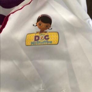 Doc McStuffins coat with head band